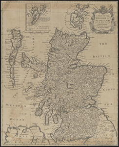 A map of the kingdom of Scotland from the latest and best observations, for Mr. Tindal's Continuation of Mr. Rapin's History