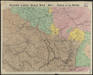 Bacon's large scale war map