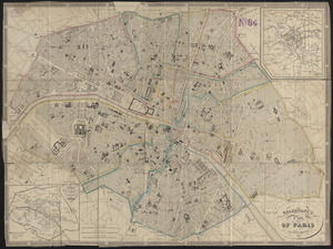 Galignani's plan of Paris and environs