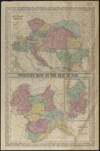 Desilver's maps of the seat of war