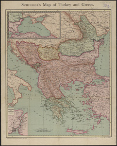Schedler's map of Turkey and Greece