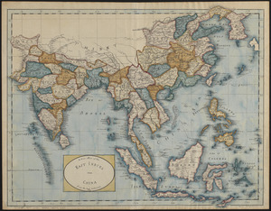 A new map of the East Indies and China from the best authorities