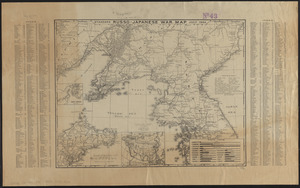 Standard Russo-Japanese war map July 1904