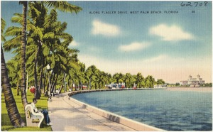 Along Flagler Drive, West Palm Beach, Florida