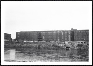 Wood Mill as seen from Merrimack River