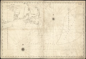 A new chart of Nantucket Shoals & George's Bank with the adjacent coast