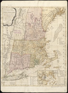 Bowles's map of the seat of war in New England, comprehending the provinces of Massachusets Bay, and New Hampshire