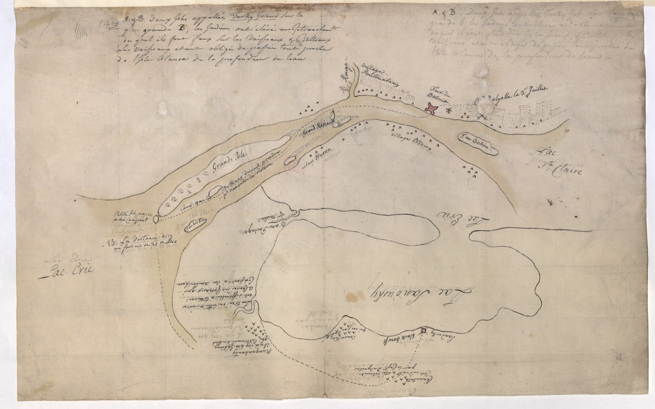 [Map of Fort Detroit and environs]