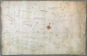 [A map of New England from Sandy Point in the south to the Saco River in the north]