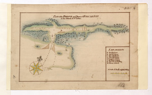 PLAN of the HARBOUR and Rivers of PORT LE JOYE in the Island of S.t Iohn