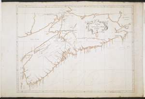 A Chart of The Peninsula of Nova Scotia 1765