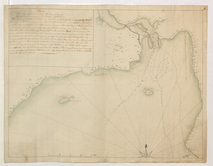 Plan of the Harbour of St John's in the Bay of Fundy= Plan & Section of the Fort as it is Near Finish'd= Plan & Section's of the Remains of the old French Fort