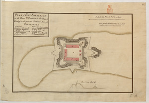 PLAN of FORT FREDERICK (in the River S.T JOHNS in the Bay of Fundy) in its present condition Nov.r 1761