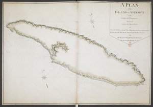 A PLAN of the ISLAND of ANTICOSTI in the Gulph of S.T Lawrence Surveyed under the Directions of Samuel Holland Esq.r His Majesty's Surveyor General of Lands for the Northern District of North America