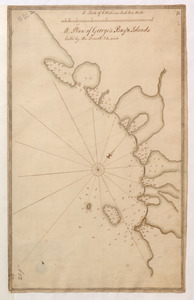 A Plan of George's Bay & Islands Call'd by the French I. du quinto