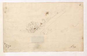 [Sketch map of an unidentified fort]