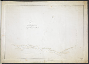 PLAN of the COMMUNICATION from TOWNSHIP No 8 to CATARAQUI as Surveyed by M.r Louis Kott Dep.t Prov.l Surv