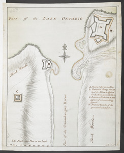 [Plan of proposed Fort Ontario at Oswego]