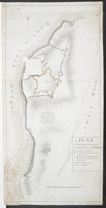 A, PLAN of the Ground Defined to be Fortified at OSWEGO