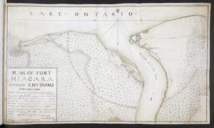 PLAN OF FORT NIAGARA WITH ITS ENVIRONS