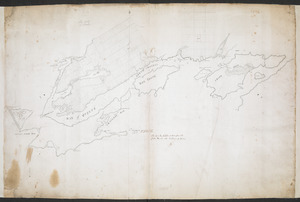 Plan of the Settlement on the Bay of Quinte