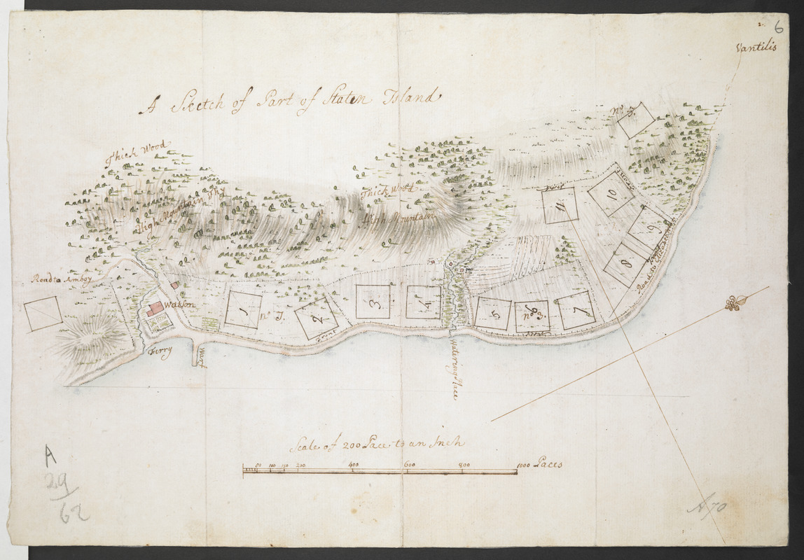 A Sketch of Part of Staten Island