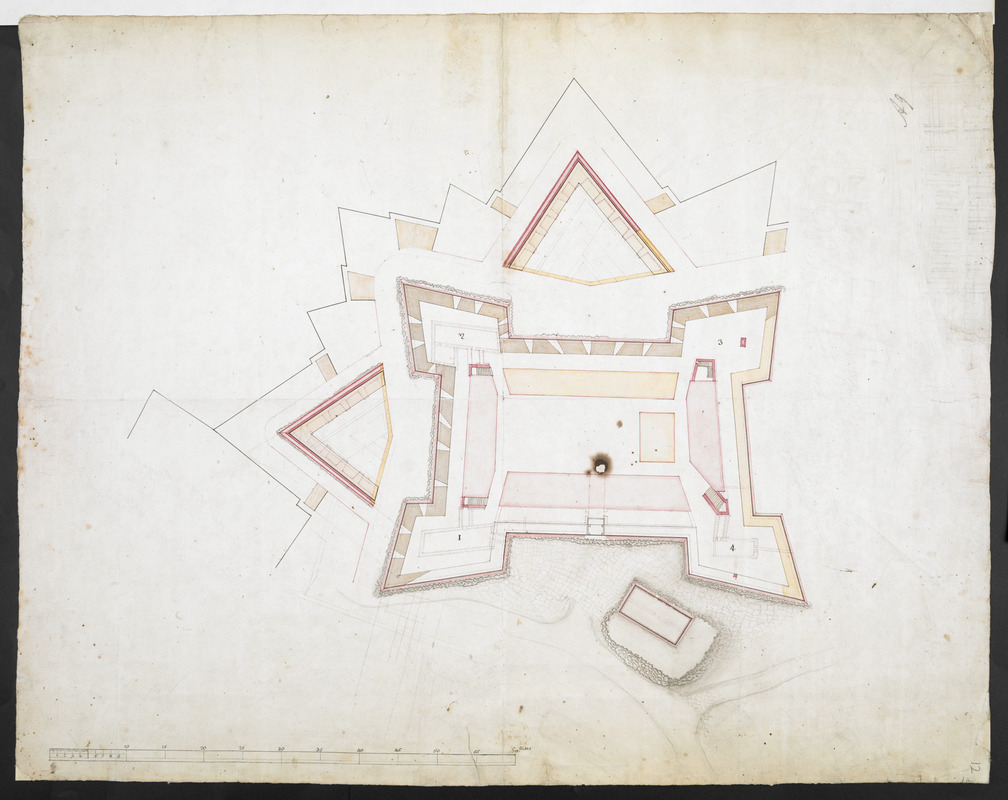 [Map of Fort Carillon]
