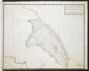 Sketch of the Isthmus to the NE of Crown Point
