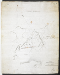 PLAN of the Encampement at Lake George the 27th Iuin 1759