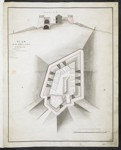 PLAN of the Bastion at Fort George