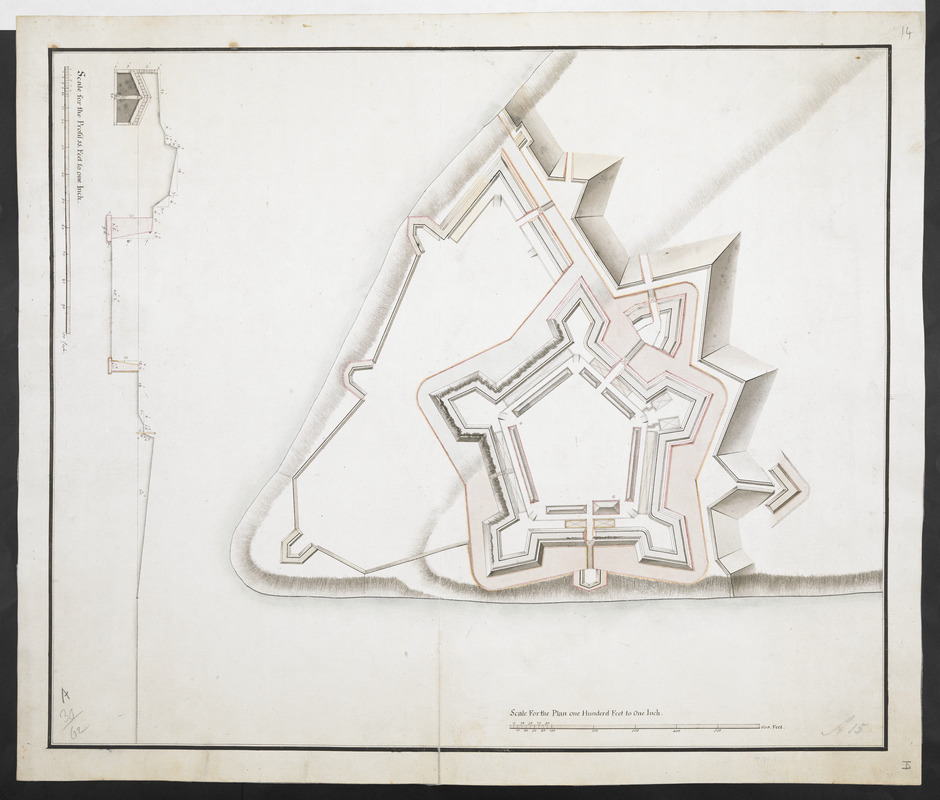 [Map of Fort Pitt]