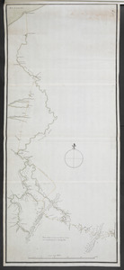 Plan of the communication from Fort Cumberland to Presqu'Isle