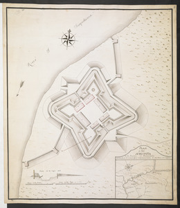PLAN OF Fort AUGUSTA in the Province OF Pansilvania