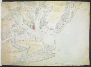[Charles Town Harbour & adjacent Islands, Country, Rivers &c]