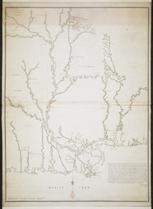 [Map of West Florida and the Mississippi River]