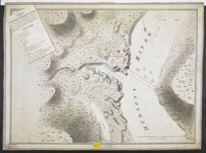 A PLAN of the FORTS MONTGOMERY & CLINTON as taken by his Majesty's Forces under the Command of Gen:l Sir Henry clinton the 6.th of October 1777