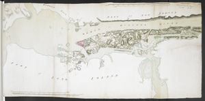 [New York Island and the Narrows. 1781]