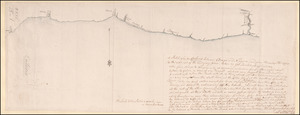 A Sketch of Lake Ontario between Oswego and Niagara and from thence up the River to the upper end of the Carrying place