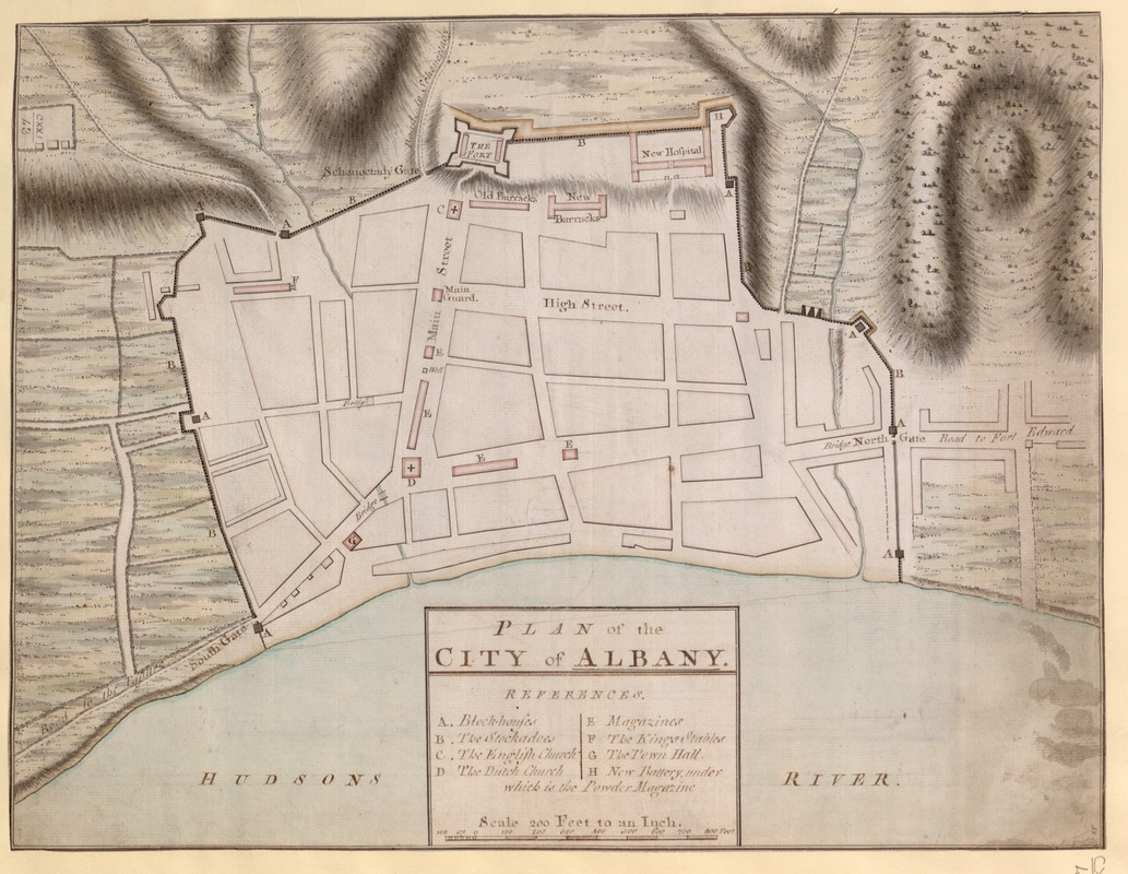 PLAN of the CITY of ALBANY