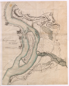 Plan of the Environs of Fort Edward