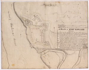 A PLAN of FORT EDWARD