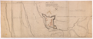 PLAN of Fort Edward
