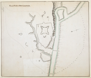 Rough PLAN of FORT LIGONIER