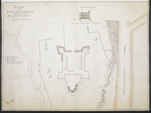 PLAN OF FORT LIGONIER with Part of the RETRANCHMENT