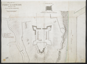 PLAN of FORT LIGONIER with part of the RETRENCHMENT