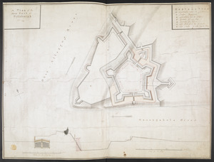 A plan of the New Fort at Pittsburgh Novr 1759