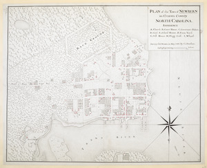 PLAN of the Town of NEWBERN in Craven County NORTH CAROLINA