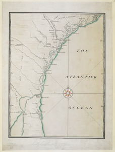 [Coast of South Carolina, Georgia and Florida from Charleston to St. Augustine]