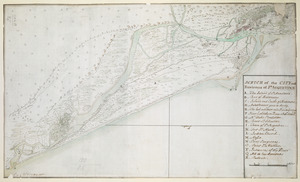 SCETCH of the CITY and Environs of S.T AUGUSTINE