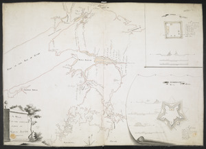 A MAP OF THE SURVEYED PARTS OF NOVA SCOTIA MDCCLVI